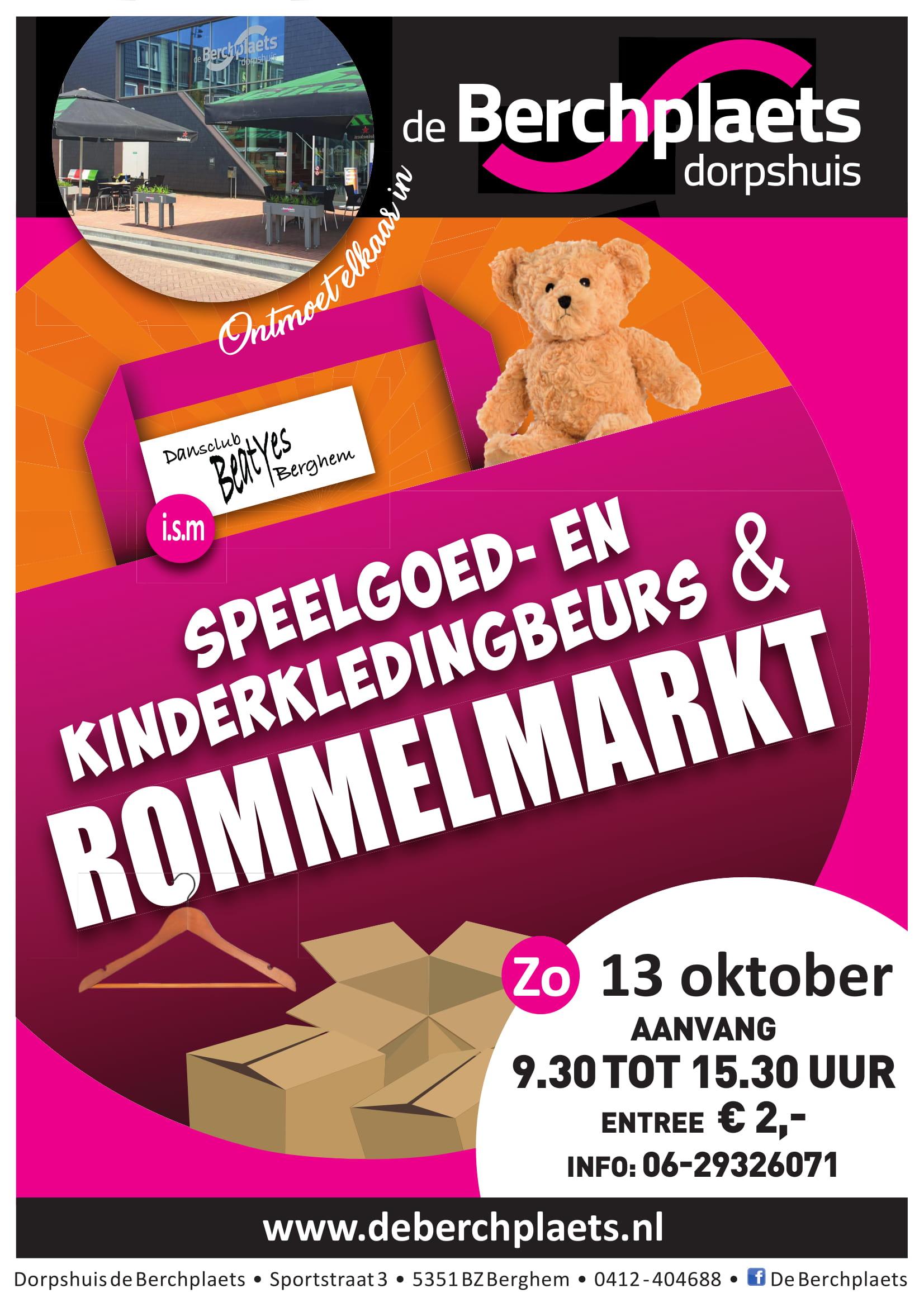 Mooiberghem Nl Speelgoed Kinderkledingbeurs Rommelmarkt De Berchplaets