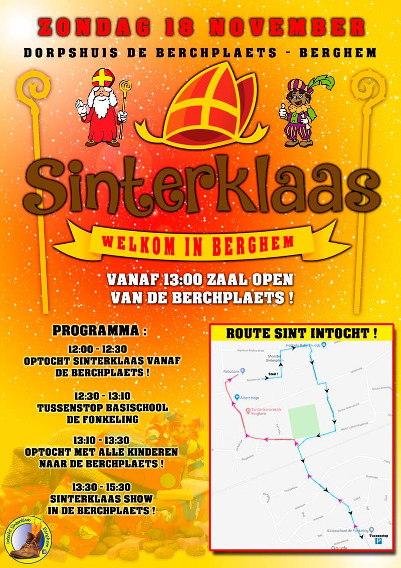Mooiberghem Nl Intocht Sinterklaas Op Zondag 18 November A S