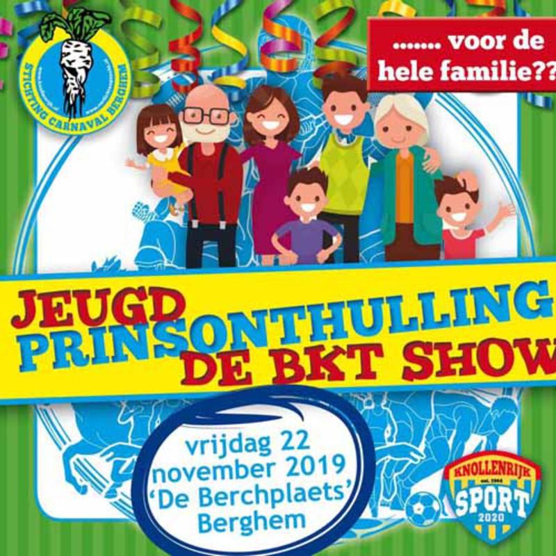 Mooiberghem Nl Jeugdprinsonthulling En Bkt Show Op Vrijdag 22 November In De Berchplaets