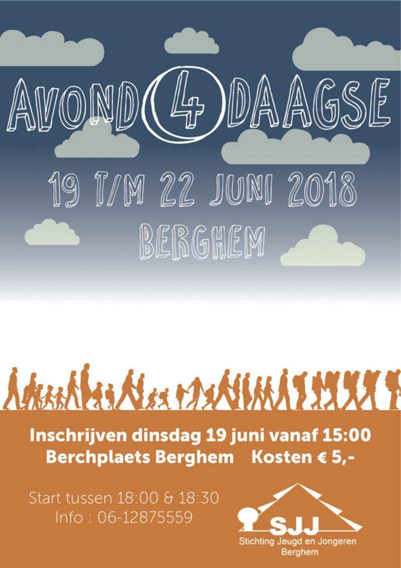 Mooiberghem Nl Inschrijven Wandelvierdaagse Berghem Op 19 Juni In De Berchplaets