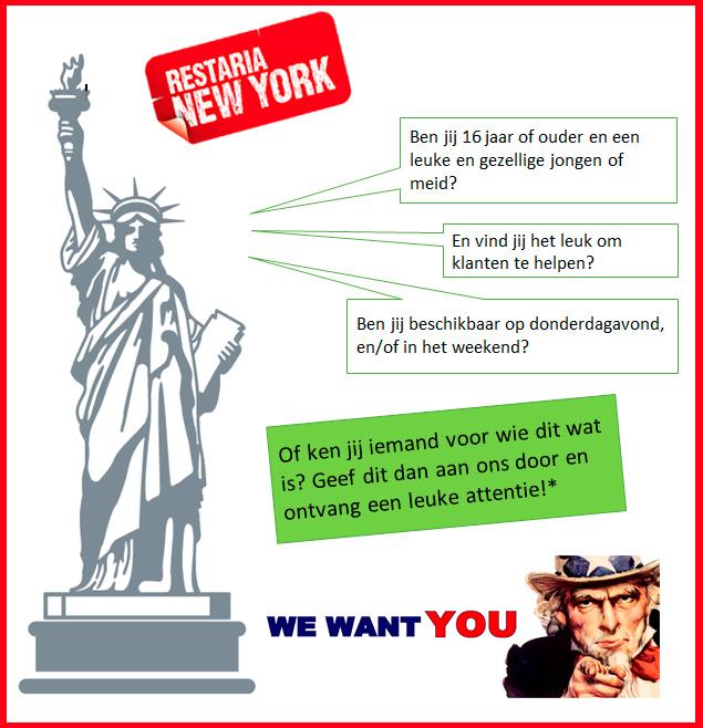 Mooiberghem Nl Restria New York Zoekt Nieuwe Collega